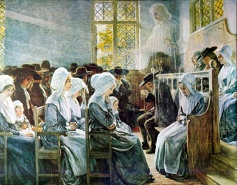 Early Evangelical Clothing Women